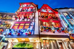Free Strasbourg, France - Christmas Market In Alsace Stock Photo - 163129280