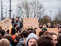 Global movement Fridays for Future royalty free stock photos