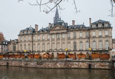 Strasbourg France after terrorist attacks at Christmas Market royalty free stock photo