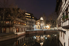 Strasbourg Frankrike Royaltyfri Fotografi