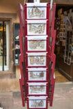 STRASBOURG FRANKRIKE - SEPTEMBER 26 2008: Ett typisk Arkivfoto