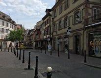 Strasbourg gata royaltyfri bild