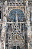 Strasbourg - The gothic cathedral Royalty Free Stock Photography