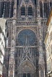 Strasbourg - The gothic cathedral Stock Photo