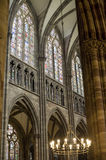 Strasbourg - The gothic cathedral, interior Stock Image