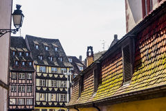 Strasbourg - Half-timbered houses Stock Image