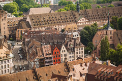 Strasbourg houses. France. Royalty Free Stock Images