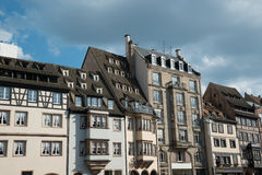 Strasbourg houses Royalty Free Stock Photo