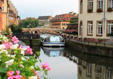 Strasbourg, La pequeno France imagem de stock royalty free
