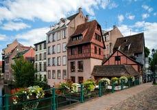 Strasbourg. La petite France Image libre de droits