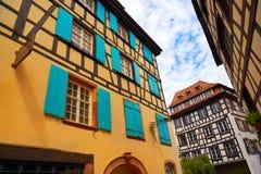 Strasbourg la Petite France in Alsace Stock Image