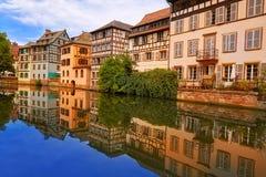 Strasbourg la Petite France in Alsace Royalty Free Stock Photo