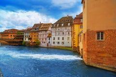 Strasbourg la Petite France in Alsace Stock Photos