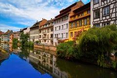 Strasbourg la Petite France in Alsace Stock Images