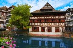 Strasbourg la Petite France in Alsace Royalty Free Stock Image