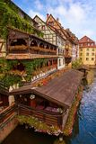 Strasbourg la Petite France in Alsace Royalty Free Stock Images