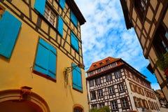 Strasbourg la Petite France in Alsace Stock Photography