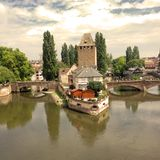 Strasbourg landscape Stock Images