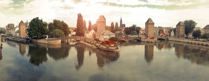 Strasbourg landscape Royalty Free Stock Photo