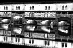Strasbourg, medieval bridge Ponts Couverts. Stock Photo