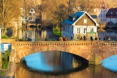 Strasbourg old bridge Stock Photo