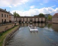 Strasbourg Petite France Royaltyfri Bild
