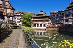 Strasbourg Petite France in Alsace Stock Image