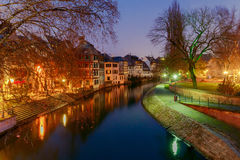 Strasbourg. Petite France district in the old city. Stock Photography