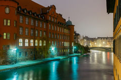 Strasbourg. Petite France district in the old city. Stock Image