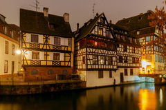 Strasbourg. Petite France district in the old city. Stock Photo