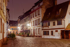 Strasbourg. Petite France district in the old city. Royalty Free Stock Photos