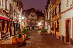 Strasbourg. Petite France district in the old city. Royalty Free Stock Image