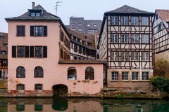 Strasbourg. Petite France district in the old city. Royalty Free Stock Photography