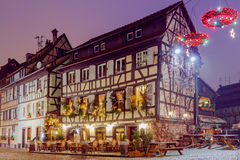 Strasbourg. Petite France district in the old city. Royalty Free Stock Images