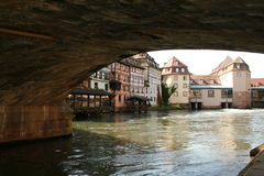 Strasbourg. Picturesque scenery in the tanning district of Strasbourg stock photography