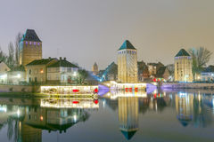 Strasbourg. Quay in the quarter Petite France. Stock Images
