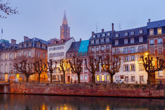 Strasbourg. Quay St. Nicholas. Stock Photography