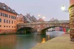 Strasbourg. Quay St. Thomas. Stock Image