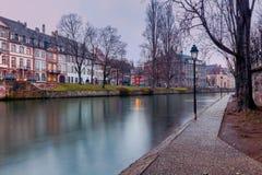 Strasbourg. Quay St. Thomas. Royalty Free Stock Images