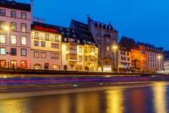 Strasbourg. Quay St. Thomas. Stock Photography