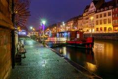 Strasbourg. Quay St. Thomas. Royalty Free Stock Photography
