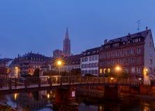 Strasbourg. Quay St. Thomas. Royalty Free Stock Photos