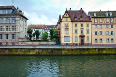 Strasbourg river houses Stock Images