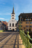 Strasbourg St Guillaume church Royalty Free Stock Images
