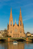 Strasbourg St. Paul Church Royalty Free Stock Photo