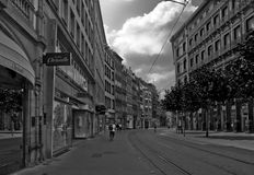 Strasbourg street Stock Photo