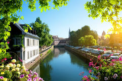 Strasbourg in summer Stock Images