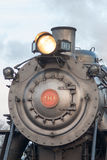STRASBURG, PA - 12月15日:蒸汽机车在Strasburg, 2012年12月15日的宾夕法尼亚 免版税库存照片