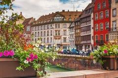 Strasburg, Alsace, Francja Fotografia Royalty Free
