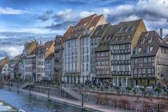 Strasburg i rzeczna bolączka obraz stock
